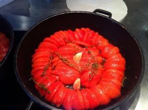 tomates confits